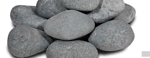 Galets beach pebbles noir 12 15 cm vrac / kg - Central Jardin
